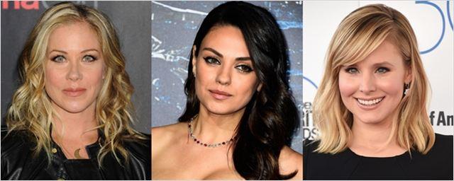 Mila Kunis, Kristen Bell e Christina Applegate vão atuar juntas em comédia