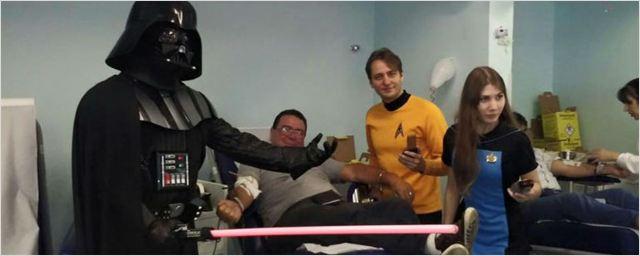Fãs de Star Wars e Star Trek promovem ação social em hospitais de São Paulo