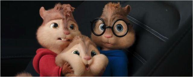 Alvin e os Esquilos: Na Estrada ganha novos comerciais nacionais