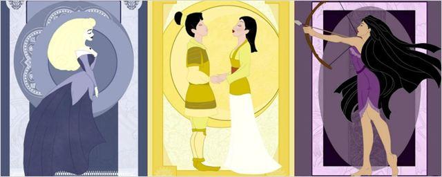 E se as princesas da Disney representassem os signos do zodíaco? Artista imagina como seria