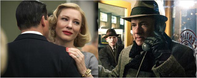 Carol e Ponte dos Espiões lideram indicações ao BAFTA