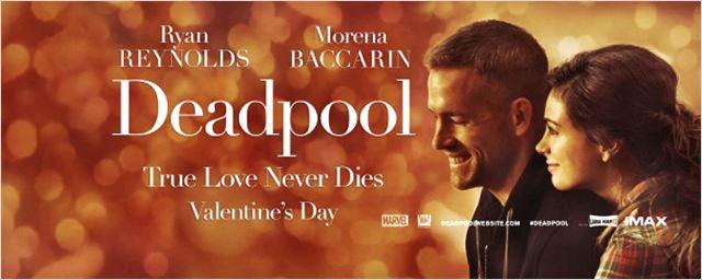 Deadpool ganha banner de Dia dos Namorados