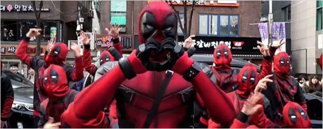 Deadpool inspira flash mob incrível na Coreia do Sul