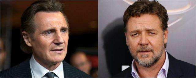 Liam Neeson e Russell Crowe vão estrelar filme sobre Caso Watergate