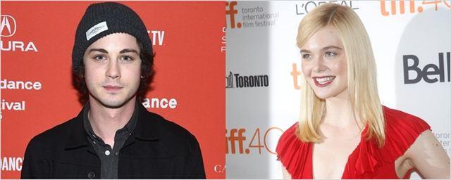 Logan Lerman e Elle Fanning vão atuar juntos em drama sobre escritor com crises mentais