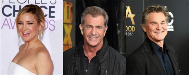 Kurt Russell e Kate Hudson vão estrelar nova série dirigida por Mel Gibson