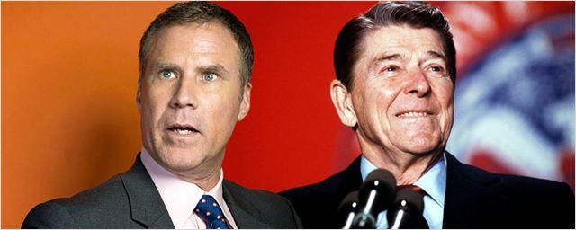 Will Ferrell será presidente dos Estados Unidos em Reagan