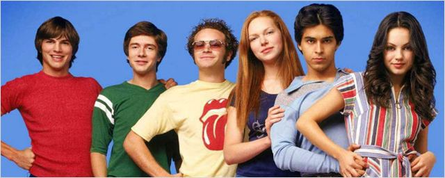 Elenco de That '70s Show se reúne nos bastidores de The Ranch
