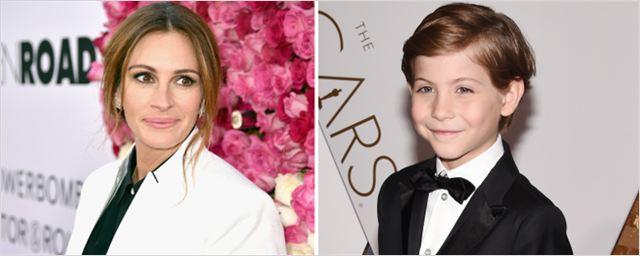 Julia Roberts e Jacob Tremblay irão contracenar em filme baseado em best-seller