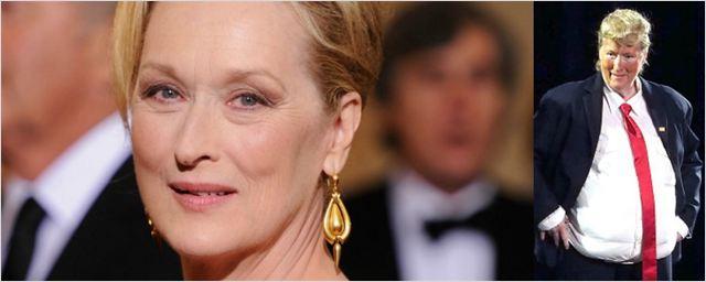 Meryl Streep se veste de Donald Trump e canta dueto ironizando político