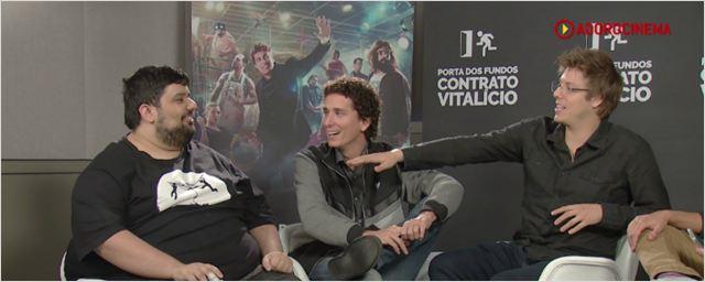 Contrato Vitalício: Fabio Porchat fala das alterações no roteiro do primeiro filme do Porta dos Fundos (Exclusivo)