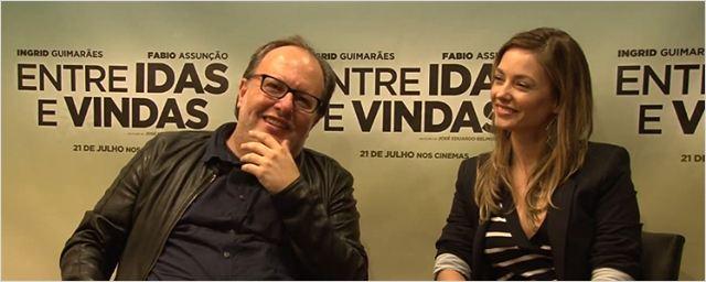 O diretor José Eduardo Belmonte e a atriz Rosanne Mulholland contam como nasceu Entre Idas e Vindas (Exclusivo)