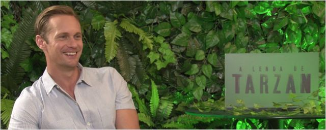 A Lenda de Tarzan: Alexander Skarsgård nega ter filmado cena de beijo com Christoph Waltz (exclusivo)