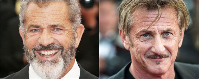 Mel Gibson e Sean Penn vão estrelar filme sobre a criação do Dicionário Oxford
