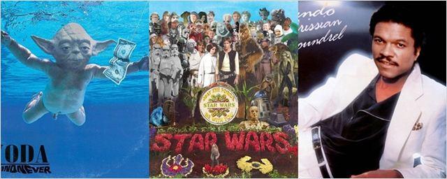 Star Wars: Designer inclui personagens de Guerra nas Estrelas em capas de álbuns clássicos