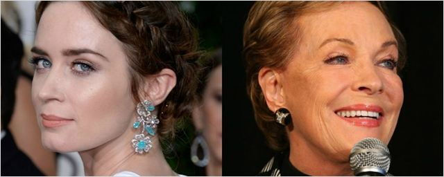 Julie Andrews reage à escalação de Emily Blunt como a nova Mary Poppins