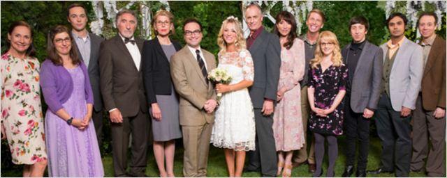 The Big Bang Theory: Veja as fotos do casamento de Leonard e Penny
