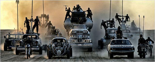 Vídeo de bastidores mostra cenas de Mad Max: Estrada da Fúria sem efeitos especiais