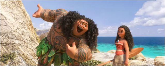 Disney divulga clipe de música cantada por Dwayne Johnson em Moana - Um Mar de Aventuras