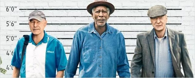 Morgan Freeman, Michael Caine e Alan Arkin decidem assaltar um banco no trailer de Despedida em Grande Estilo