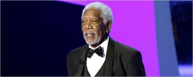 Morgan Freeman ganha prêmio honorário por sua carreira