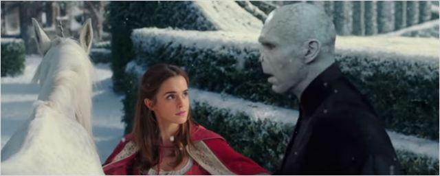 Vídeo de fã une A Bela e a Fera com Harry Potter