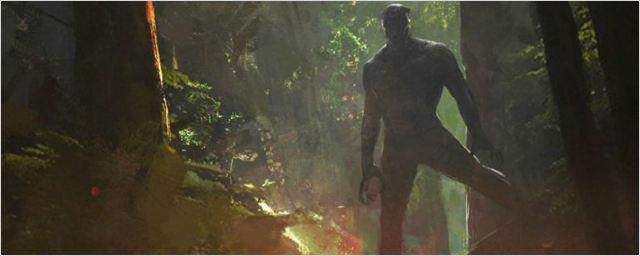 Artes conceituais de Pantera Negra apresentam Wakanda
