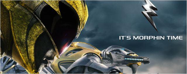 Power Rangers; Heróis posam com seus Zords em cartazes individuais