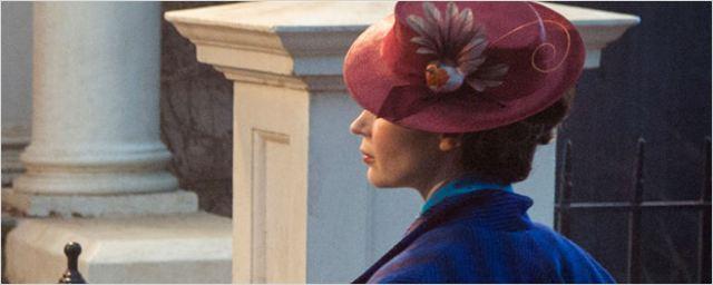 Veja a primeira imagem de Emily Blunt em Mary Poppins Returns