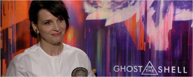 "Ghost in the Shell: Juliette Binoche discute o aspecto ""feminino"" de seu personagem, concebido inicialmente como um homem (Entrevista Exclusiva)"