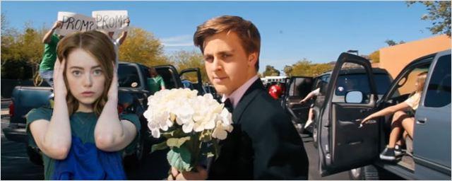 Adolescente recria abertura de La La Land para convidar Emma Stone para festa de formatura