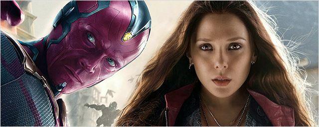 Foto de bastidores revela spoiler de Vingadores 3: Guerra Infinita envolvendo o Visão e a Feiticeira Escarlate
