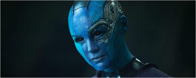 Karen Gillan revela que não sobrevivia na primeira versão do roteiro de Guardiões da Galáxia