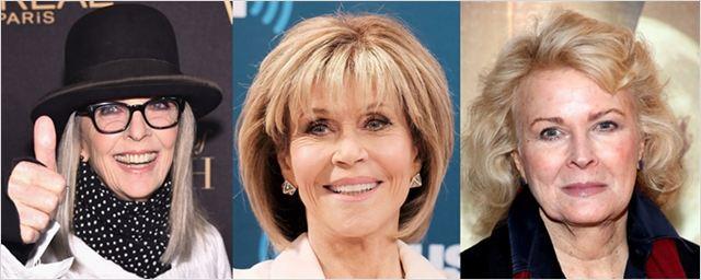 Diane Keaton, Jane Fonda e Candice Bergen vão estrelar comédia sobre clube do livro abalado por Cinquenta Tons de Cinza