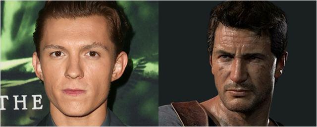 Tom Holland será o protagonista da adaptação do game Uncharted
