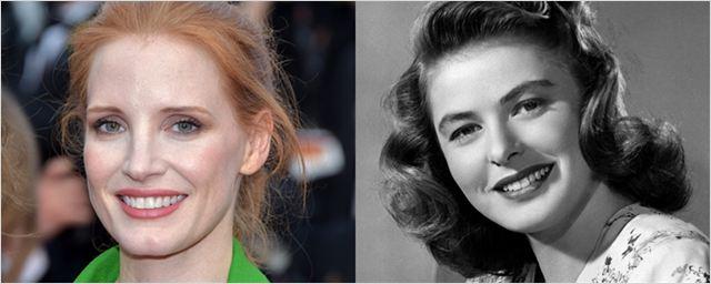 Jessica Chastain vai interpretar Ingrid Bergman nas telonas