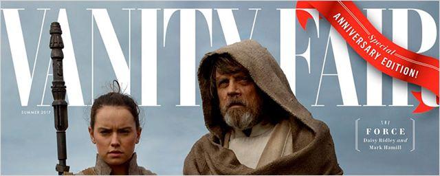 Star Wars - Os Últimos Jedi é destaque em capas de edição comemorativa da Vanity Fair