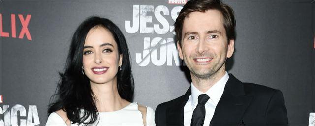 Krysten Ritter e David Tennant retomam parceria em drama