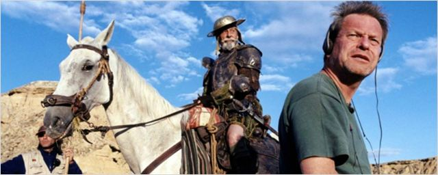 Terry Gilliam anuncia o fim das filmagens de The Man Who Killed Don Quixote