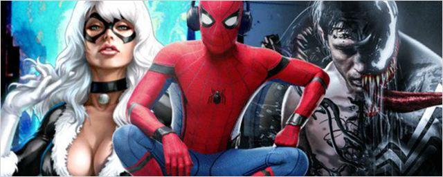 Produtora revela que Venom, Sabre de Prata e Gata Negra estão no mesmo universo de Homem-Aranha: De Volta ao Lar
