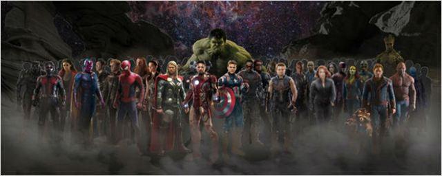 Scarlett Johansson revela que Vingadores: Guerra Infinita tem sequência com mais de 30 personagens reunidos