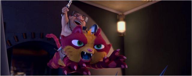 Homem azarado vestido de gato passa por poucas e boas em Lino - Uma Aventura de Sete Vidas. Confira o trailer! (Exclusivo)