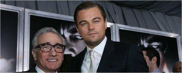 Agora é oficial! Martin Scorsese e Leonardo DiCaprio estarão juntos em mais um filme