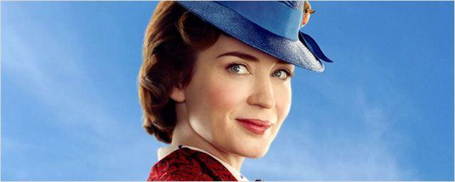 Mary Poppins Returns ganha cartaz animado com Emily Blunt