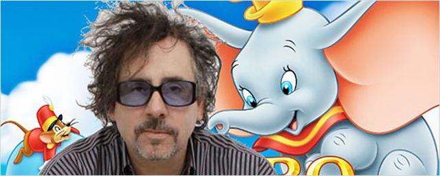 Versão de Dumbo dirigida por Tim Burton ganha data de estreia e primeira imagem