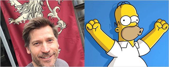 Nikolaj Coster-Waldau, o Jaime Lannister de Game of Thrones, vai participar de episódio de Os Simpsons