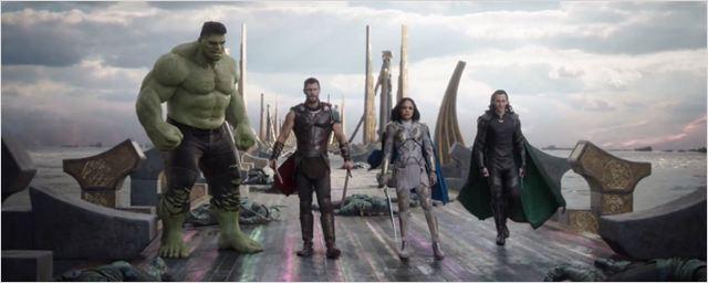 Segundo o diretor Taika Waititi, a maior parte de Thor: Ragnarok foi improvisada