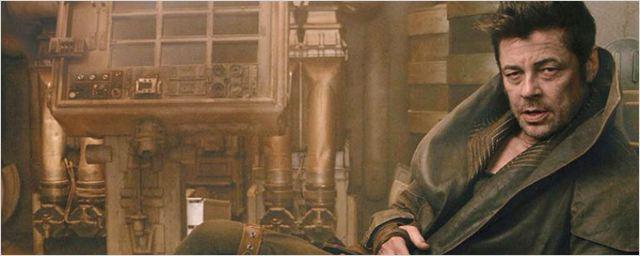 Revelados detalhes sobre o personagem de Benício Del Toro em Star Wars - Os Últimos Jedi