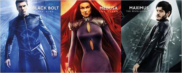 Inumanos: Nova série da Marvel ganha cartazes individuais