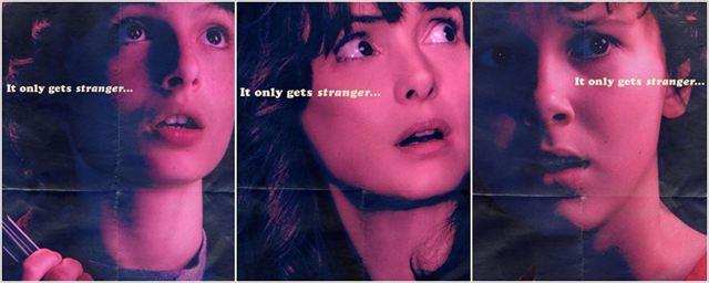 Stranger Things: Cartazes individuais apontam para um segunda temporada ainda mais bizarra